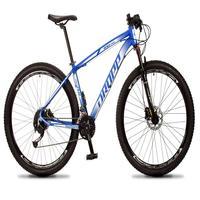 Bicicleta Aro 29 Dropp Rs1 Pro 27v Alivio, Fr. Hidra E Trava - Azul/branco - 15´´ - 15´´