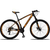 Bicicleta Aro 29 Dropp Z3 21v Shimano, Suspensão Freio Disco - Preto/laranja - 15´´ - 15´´