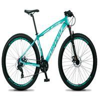 Bicicleta Aro 29 Dropp Rs1 Pro 21v Tourney Freio Disco/trava - Verde/branco - 21