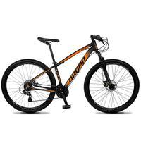 Bicicleta Aro 29 Dropp Z4x 24v Suspensão E Freio A Disco - Preto/laranja - 21''