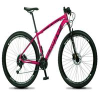 Bicicleta Aro 29 Dropp Rs1 Pro 27v Alivio, Fr. Hidra E Trava - Rosa/preto - 19´´ - 19´´