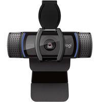 Webcam Full Hd Logitech C920s 1080 P Microfone Preto