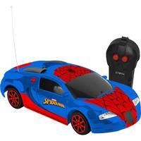 Veiculo Web Storm 3 Func - Spider Man - Pilhas - Teto Aranha