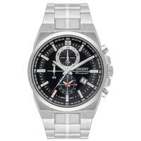 Relogio Orient Masculino Cronografo Mbssc224 P1sx Aco Prata