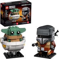Lego Brickheadz Star Wars O Mandalorian E A Criança - Lego 75317