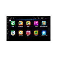 Multimídia Universal Tela 7´´ Android 9.0 Gps Câmera De Ré Tv Digital 2gb Aikon