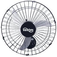 Ventilador Oscilante De Parede Tex 5 Preto Bi Volt 50cm.