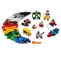Lego® Classic - Blocos E Rodas - 11014