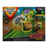 Playset Monster Jam Com Pista E Carro 1:64 - Zombie