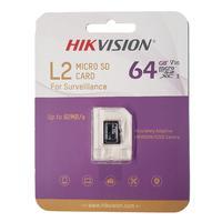 Cartão De Memória Hikvision, Microsd, L2 Series, 64gb - HS-TF-L2(STD)/64G/P