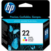 Cartucho De Tinta Hp 22 C9352ab Colorido