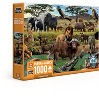 Quebra Cabeça 1000 Peças Savana Africana