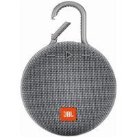 Caixa De Som Bluetooth Jbl Clip 3 Cinza