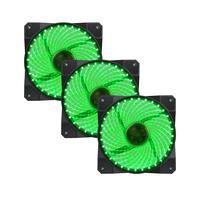Fan Cooler 32 Led Verde Gamemax Galeforce Gmx-gf12g 3-fan