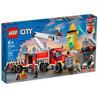 Lego City - Unidade De Controle De Incêndios - 60282