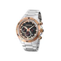 Relógio Masculino Magnum Analógico Ma34281p - Prata