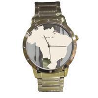 Relógio Feminino Lince Analógico Lrg4512l/c1kk - Dourado