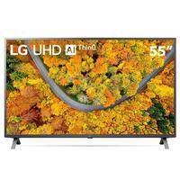 "Smart TV LG Led 55"" 4K UHD, Wi-Fi, Bluetooth, Comando Voz - 55up7550psf.bwz"