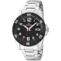 Relógio Masculino Champion Analógico Ca31300t - Prata/preto