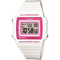 Relógio Unissex Casio Digital W-215h-7a2vdf - Branco/rosa