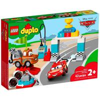 Lego Duplo - Dia Da Corrida Do Relâmpago Mcqueen - 10924