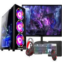 "Pc Gamer Completo Fácil Intel I5 3 Geração 8GB, Gtx 750 4GB, SSD 240GB, Monitor 19"""