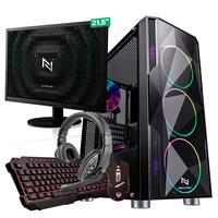 Kit - Pc Gamer Start Nli82913 Amd 320ge 16gb vega 3 Integrado Ssd 240gb + Monitor 21,5