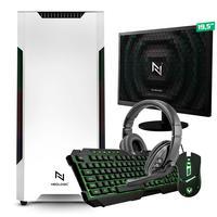 Kit - Pc Gamer Start Nli82896 Amd 320ge 16gb vega 3 Integrado Ssd 120gb + Monitor 19,5