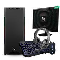 Kit - Pc Gamer Start Nli82882 Amd 320ge 16gb vega 3 Integrado 1tb + Monitor 19.5