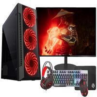 "Pc Gamer Completo Fácil Intel Core I7 3.4ghz 16gb Hd 1tb Gtx 750 4gb Monitor 21"" Hdmi Led Teclado E Mouse Gamer"