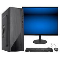 "Computador Fácil Intel Core I7 3.4ghz 8gb Ssd 480gb Monitor 21"" Hdmi Led Teclado E Mouse"