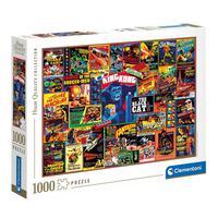 Puzzle 1000 Peças Clássicos Do Cinema - Clementoni - Importado