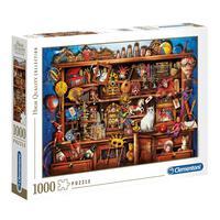 Puzzle 1000 Peças Loja De Variedades - Clementoni - Importado