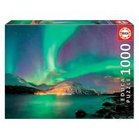 Puzzle 1000 Peças Aurora Boreal - Educa - Importado