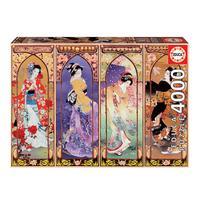 Puzzle 4000 Peças Arte Oriental - Educa -importado