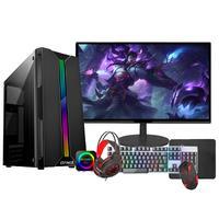 """PC Gamer Completo Fácil Intel I5, Terceira Geração, 8GB, GT 420 4GB, HD 500GB, Monitor 19"""""""
