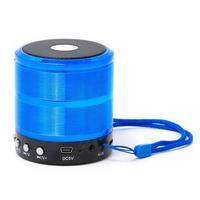 Mini Caixa De Som Portátil Para Celular Ws-887 Azul
