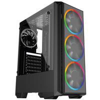 Pc Gamer Intel 10a Geração Core I3 10100f, Radeon Rx 550 4gb, 8gb Ddr4 2666mhz, Ssd 480gb, 500w, Skill Pcx