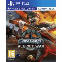 Honor And Duty All Out War Edition vr - Ps4